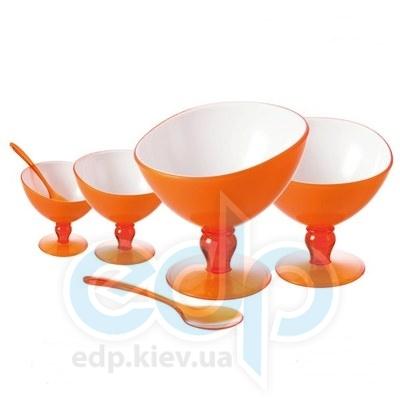 Granchio (посуда) Granchio -  Акриловые креманки для десерта Granchio Siesta 4 предмета  (арт. 88762)