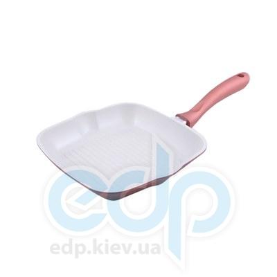 Fissman (посуда) Fissman - Сковорода-гриль BISCUIT 24см для индукции (литой алюминий) (ФС4.668)