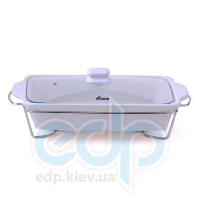 Fissman (посуда) Fissman - Мармит прямоуг. керамич. 40x9.5x7см  (артpdФС6.014.)