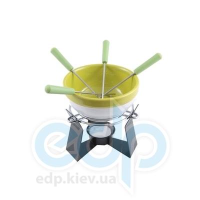 Fissman - Набор для приготовления шоколадного фондю SUMMER 6 пр. (керамика) (FD-6.304.6)