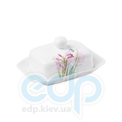Maestro (посуда) Maestro - Масленка Орхидея фарфор (МР10034-45)