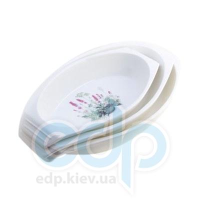 Maestro (посуда) Maestro - Блюдо овальное Лаванда (МР11024-42)
