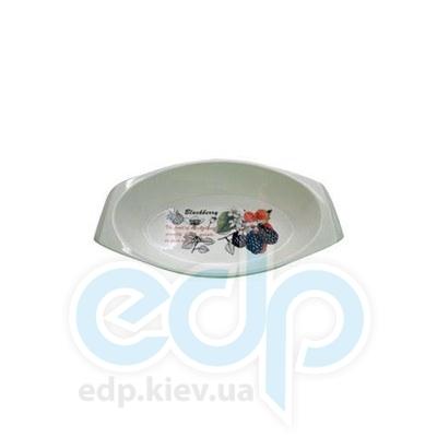 Maestro (посуда) Maestro - Блюдо овальное Ежевика (МР11225-42)