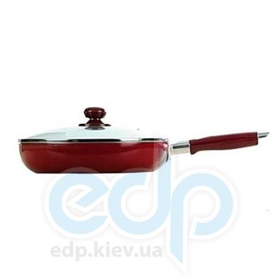Maestro (посуда) Maestro - Сковорода 18см красная Rainbow (МР1200-18)