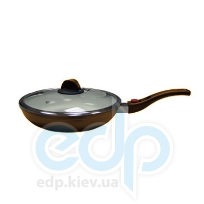 Maestro (посуда) Maestro - Сковорода 24см. коричневая (МР1204-24)