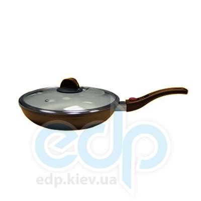 Maestro (посуда) Maestro - Сковорода 28см. коричневая (МР1204-28)
