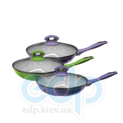 Maestro (посуда) Maestro - Сковорода 24 см Ceramic с крышкой (МР1210-24)