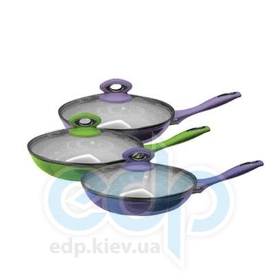 Maestro (посуда) Maestro - Сковорода 26 см Ceramic с крышкой (МР1210-26)
