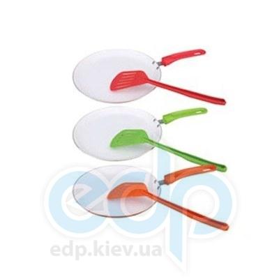 Maestro (посуда) Maestro - Сковорода блинная керам., лопатка 25 см (МР1212-25)
