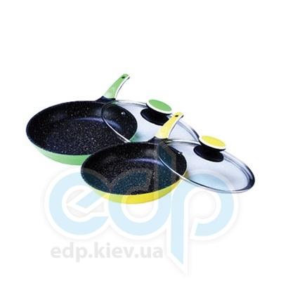 Maestro (посуда) Maestro - Сковорода 22 см Ceramic с крышкой (МР1220-22)