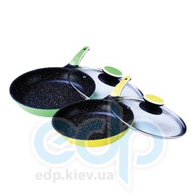 Maestro (посуда) Maestro - Сковорода 24 см Ceramic с крышкой (МР1220-24)