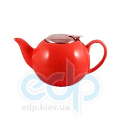 Maestro (посуда) Maestro - Чайник-заварник 750мл керамический красный (МР20004-08к)