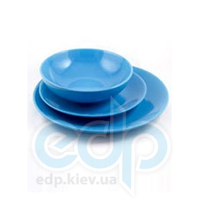 Maestro (посуда) Maestro - Тарелка обеденная керамика синияя (МР20004-18S-3с)