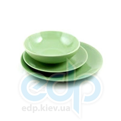 Maestro (посуда) Maestro - Тарелка обеденная керамика керамическая зеленая (МР20004-18S-3з)