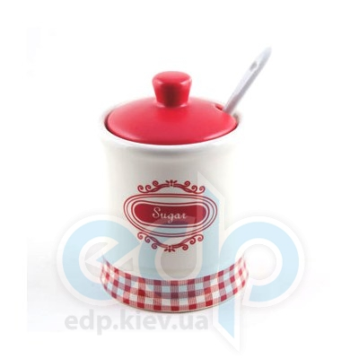 Maestro (посуда) Maestro - Сахарница, ложка керамика (МР20028-09)