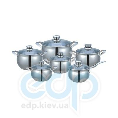 Maestro (посуда) Maestro - Набор посуды Jambo сереб. (МР3020)