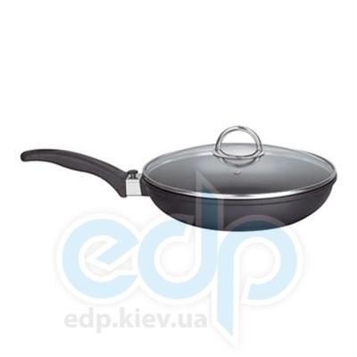 Maestro (посуда) Maestro - Сковорода 28 см с стекляной крышкой/съемная ручка (МР4928)