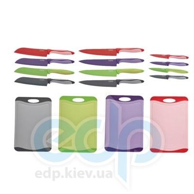Peterhof (посуда) Peterhof - Набор из 3-ух ножей с тефлоновым покрытием и разделочной доски (PH22329)