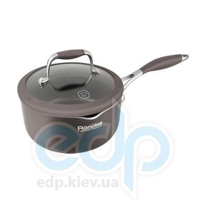 Rondell (посуда) Rondell - Ковш Mocco с крышкой 18см 1.6 л. (RDA-279)
