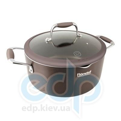 Rondell (посуда) Rondell - Кастрюля Mocco с крышкой 20см 2.0 л. (RDA-280)