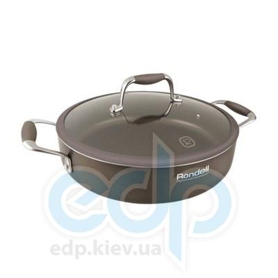 Rondell (посуда) Rondell - Сотейник Mocco с крышкой 26см (RDA-282)
