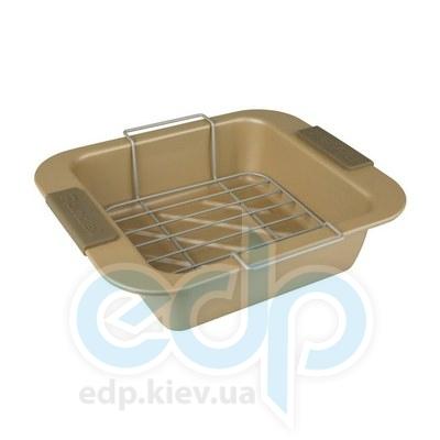 Rondell (посуда) Rondell - Форма с решеткой Champagne 28х23 см  (RDA-415)