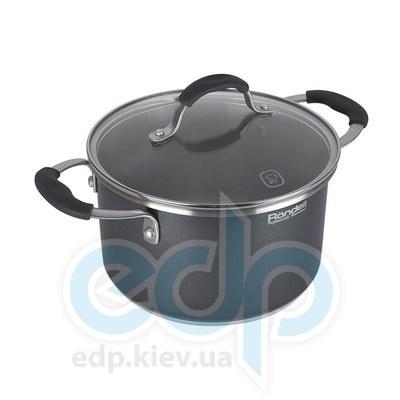 Rondell (посуда) Rondell - Кастрюля Stern с крышкой 20см 3.9л (RDS-010)