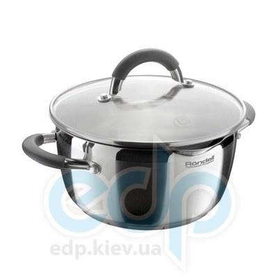Rondell (посуда) Rondell - Кастрюля Flamme с крышкой 18см 2.3л (RDS-023)