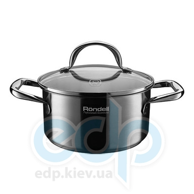 Rondell (посуда) Rondell - Кастрюля Creative с крышкой 18см 2.2л (RDS-033)