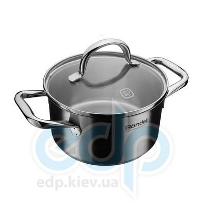 Rondell (посуда) Rondell - Кастрюля Creative с крышкой 24см 5.4л (RDS-035)