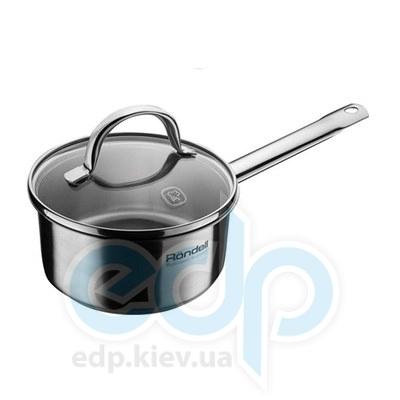 Rondell (посуда) Rondell - Ковш Creative с крышкой 14 см 1.5 л  (RDS-036)