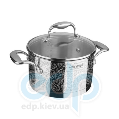 Rondell (посуда) Rondell - Кастрюля Vintage с крышкой 18 см 2.0 л. (RDS-342)