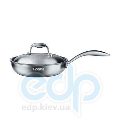 Rondell (посуда) Rondell - Сковорода Evolution с крышкой 24см (RDS-346)