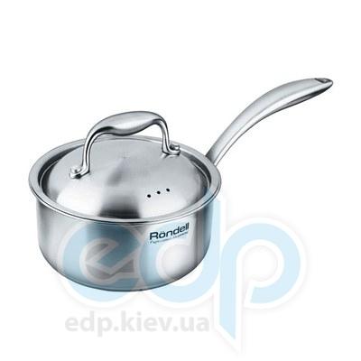 Rondell (посуда) Rondell - Ковш Evolution с крышкой 16 см. 1.5 л. (RDS-347)