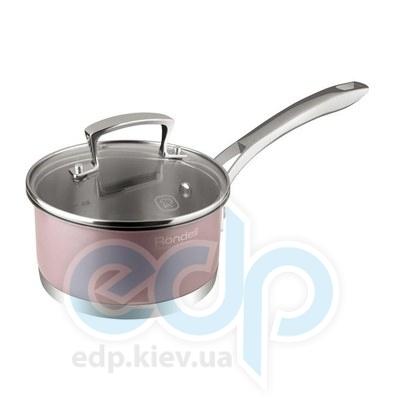 Rondell (посуда) Rondell - Ковш Rosso с крышкой 16см 1.4 (RDS-370)