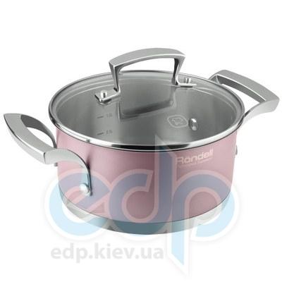 Rondell (посуда) Rondell - Кастрюля Rosso с крышкой 24см 4.9 л. (RDS-373)
