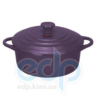 Sacher (посуда) Sacher - Кастрюля керамическая 2.3л лиловая (SHKP00084)