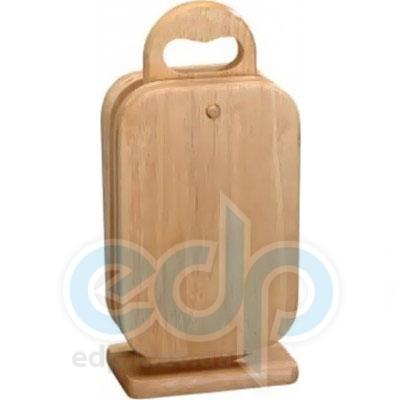 Kesper - Набор досок прямоугольных на стойке 6 штук 22 см (арт. 58375)