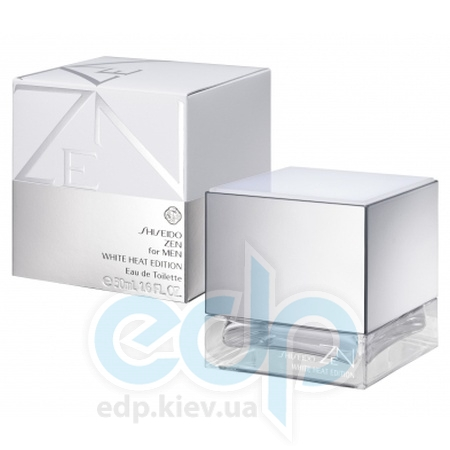 Shiseido Zen for Men White Heat Edition - туалетная вода - 50 ml TESTER