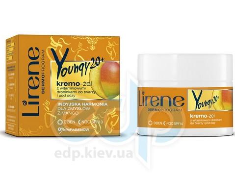 Lirene - Youngy 20 + Крем-гель с витаминами для кожи лица, день / ночь - 50 ml
