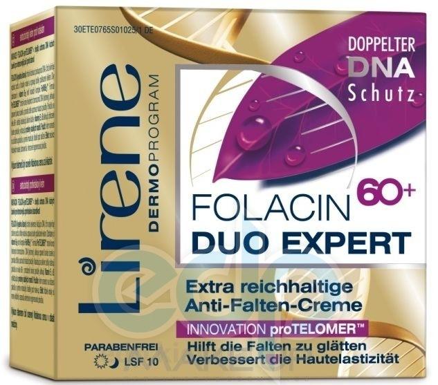 Lirene - Уникальный восстанавливающий крем-концентрат для кожи лица против морщин день / ночь - 50 ml
