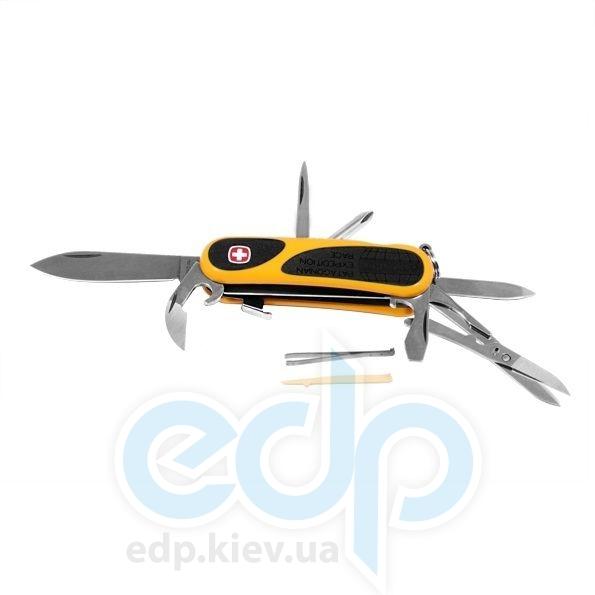 Wenger - Армейский нож Evogrip желтый подарочная коробка (арт. 1.18.59.822Х- metal box)