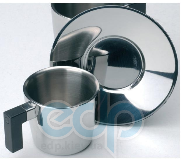 Berghoff -  Чашка для кофе с блюдцем Cubo -  180 мл (арт. 1109350)