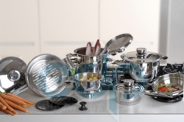 Berghoff -  Набор посуды Pride (хромотаниум) -  16 предметов (арт. 1116525)
