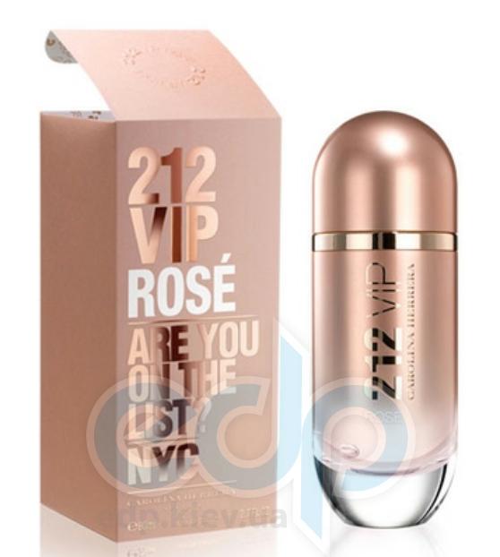 Carolina Herrera 212 VIP Rose - парфюмированная вода - 80 ml TESTER