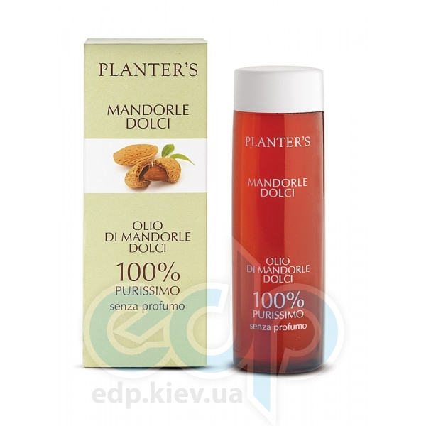 Planters - Sweet Almond Oil Fragrance Free Масло Сладкий миндаль - 200 ml (ref.2161)