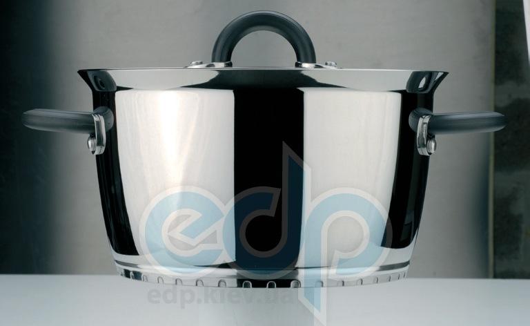 Berghoff -  Кастрюля Designo - Крышка из термостойкого стекла с отверстием для выхода пара, диаметр 24 см - 6 л (арт. 2700389)