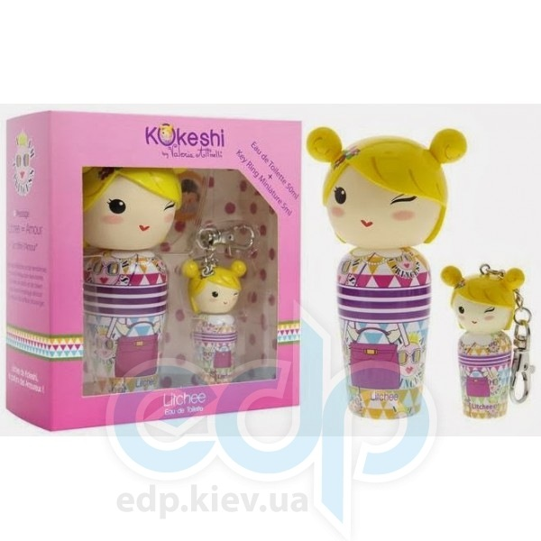 Kokeshi Parfums Litchee By Valeria Attinelli - Набор (туалетная вода 50 ml + mini 5 ml)