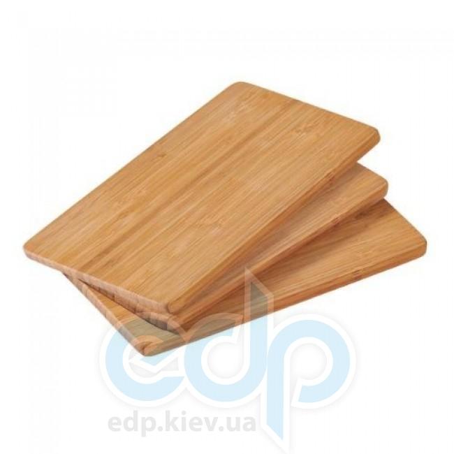 Kesper - Набор досок прямоугольных 3 штуки 22 см (арт. 58003)
