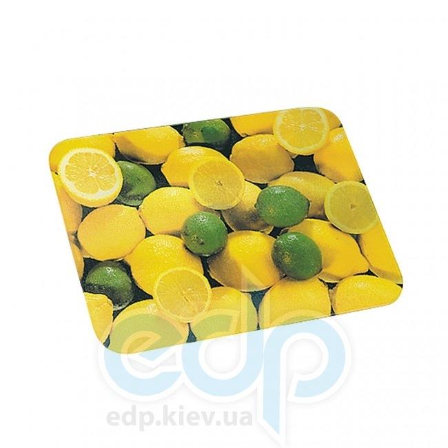 Kesper - Доска прямоугольная желтая с лимонами 20 см  (арт. 30809)